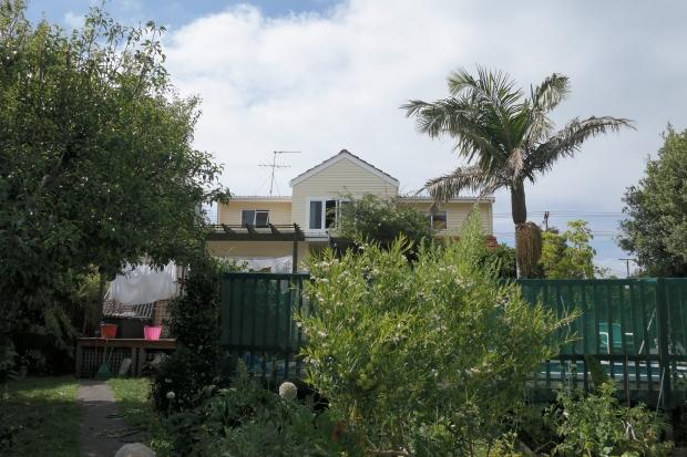 Maison de Anne vue du jardin